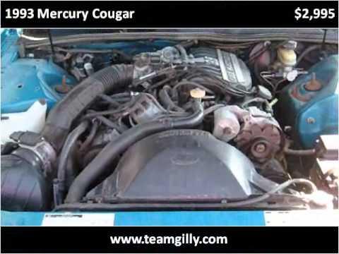 1993 Mercury Cougar Used Cars Bellevue OH