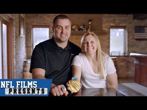 A Super Bowl Champion and an Olympian Gold Medalist Who Fell in Love | NFL Films Presents