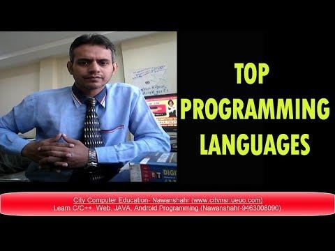 Top 3 Programming Languages 2018 - Future Programming Language