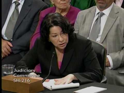 Senator Tom Coburn Questions Judge Sonia Sotomayor