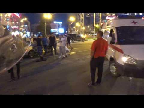 Последствия аварии - Воронеж - 16.07.2017