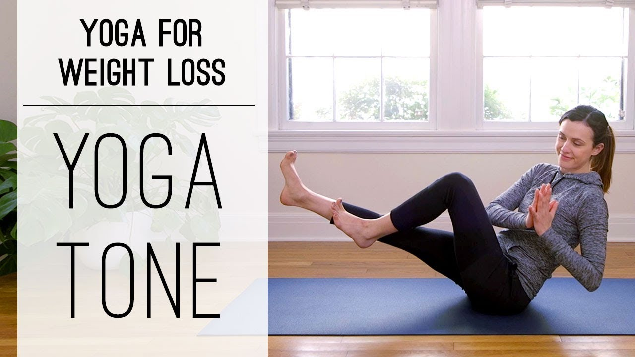 Yoga Tone Yoga For Weight Loss Yoga With Adriene Youtube