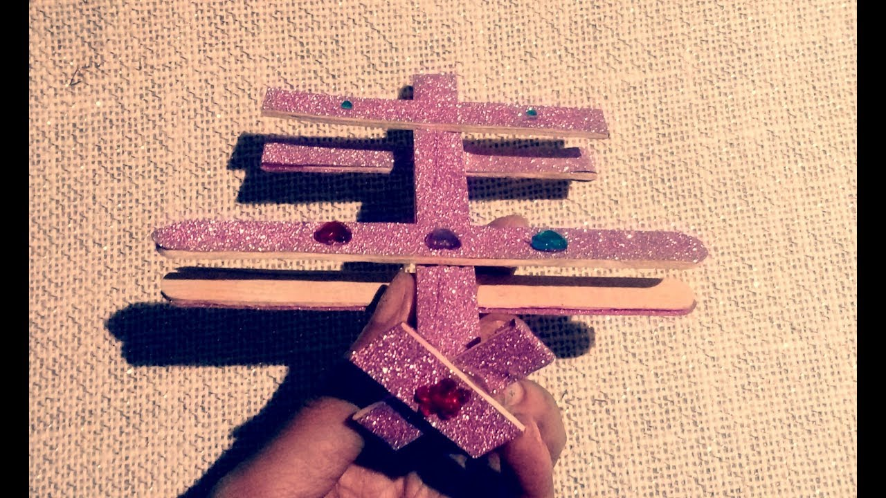 Download How to make a Popsicle Stick airplane || Popsicle stick crafts || kid's crafts