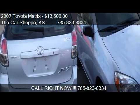 2007 Toyota Matrix 2wd For Sale In Salina Ks 67401 Youtube
