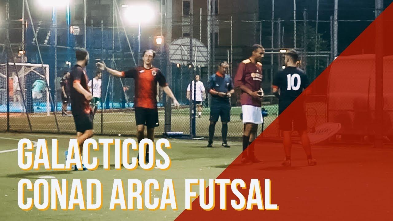 Coppa Di Lega Galacticos Conad Arca Futsal Calcio A 5 Youtube