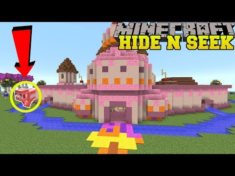 Minecraft: CANDY MOBS HIDE AND SEEK!! - Morph Hide And Seek - Modded Mini-Game