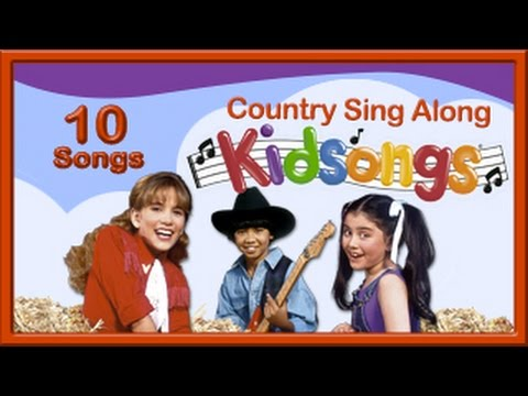 Country sing along kidsongs top songs for kids youtube