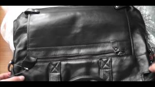 Мужской портфель из натуральной кожи из Китая!!!(, 2016-04-27T21:24:24.000Z)