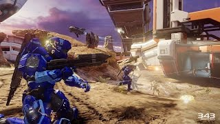 Halo 5 Guardians Warzone Assault on Dispatch Overlord Actual