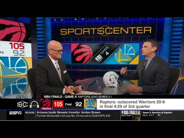 Tim Legler react to Raptors def. Warriors 105-92 in Game 4; Kawhi: 36 Pts; Curry: 27 Pts