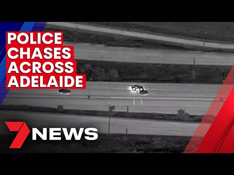 Police chases across Adelaide on the rise | 7NEWS