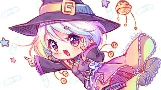 【Speedpaint】 Candy Witch - Sketching! (Hyan Timelapse #114 a)