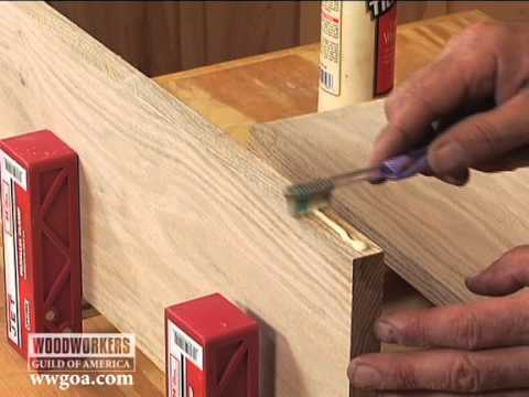 Woodworking Tips & Techniques: Joinery – Toothbrush Glue Spreader