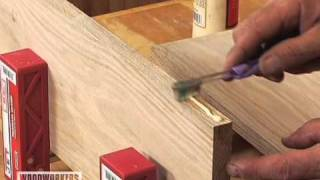 Woodworking Tips & Techniques: Joinery - Toothbrush Glue Spreader