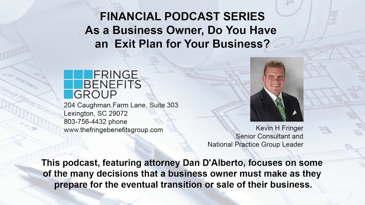 As a Business Owner, Do You Have an Exit Plan for Your Business?