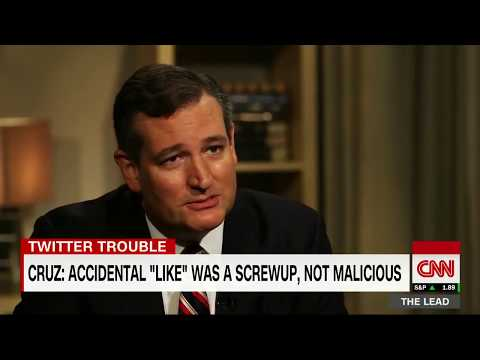 "Ted Cruz Reacts to Twitter Scandal about Accidental ""Like"" on Porn Video Tweet"