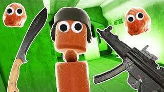 I Shot and Sliced Hot Dogs and Meatballs in Hot Dogs Horseshoes and Hand Grenades VR!