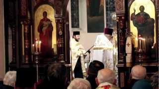 Początek nabożeństwa ekumenicznego w katedrze prawosławnej w Łodzi