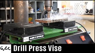 Electromagnetic drill press vise
