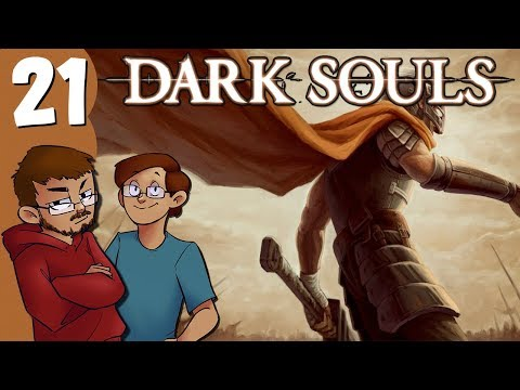 Let's Play | Dark Souls - Part 21 - Ball-sack Mustache