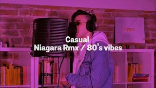 Casual - Niagara Rmx / 80's vibes (Live Performance)   La Stanza Appesa