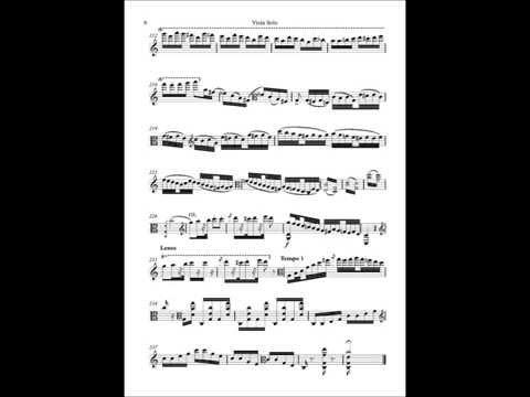 Accardo - Paganini Sonata per la Grand Viola (Sheet Music)