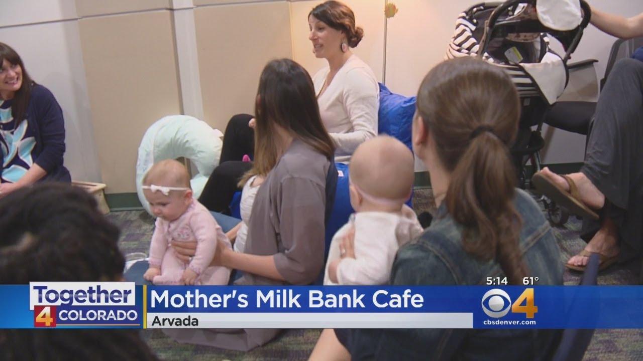 New Moms Get Support At Milk Bank Cafe
