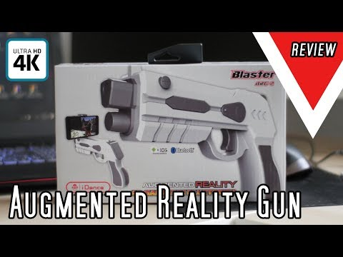 Augmented Reality Gun   Blaster ARG-2   Bluetooth Android IOS Gun Review
