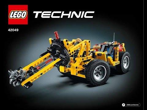 Lego Instructions Technic 42049 Mine Loader Book 3 Youtube