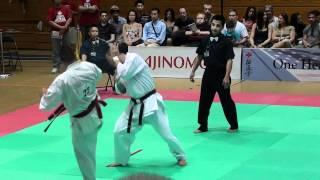 Kyokushin All American 2012 : Z.Damyanov VS S.Kamada