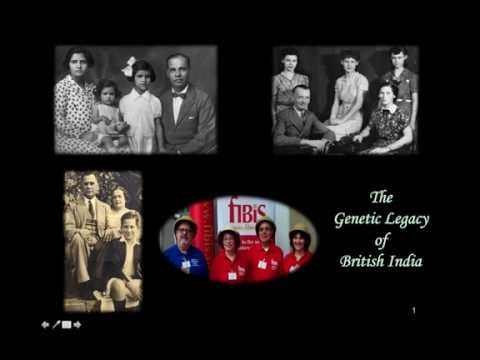 Geraldine Charles & Valmay Young - The Genetic Legacy of British India - the FIBIS DNA Project
