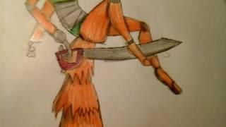 Мои рисунки фнаф на большом формате