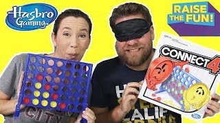 Connect 4 Blindfolded - Raise The Fun Challenge