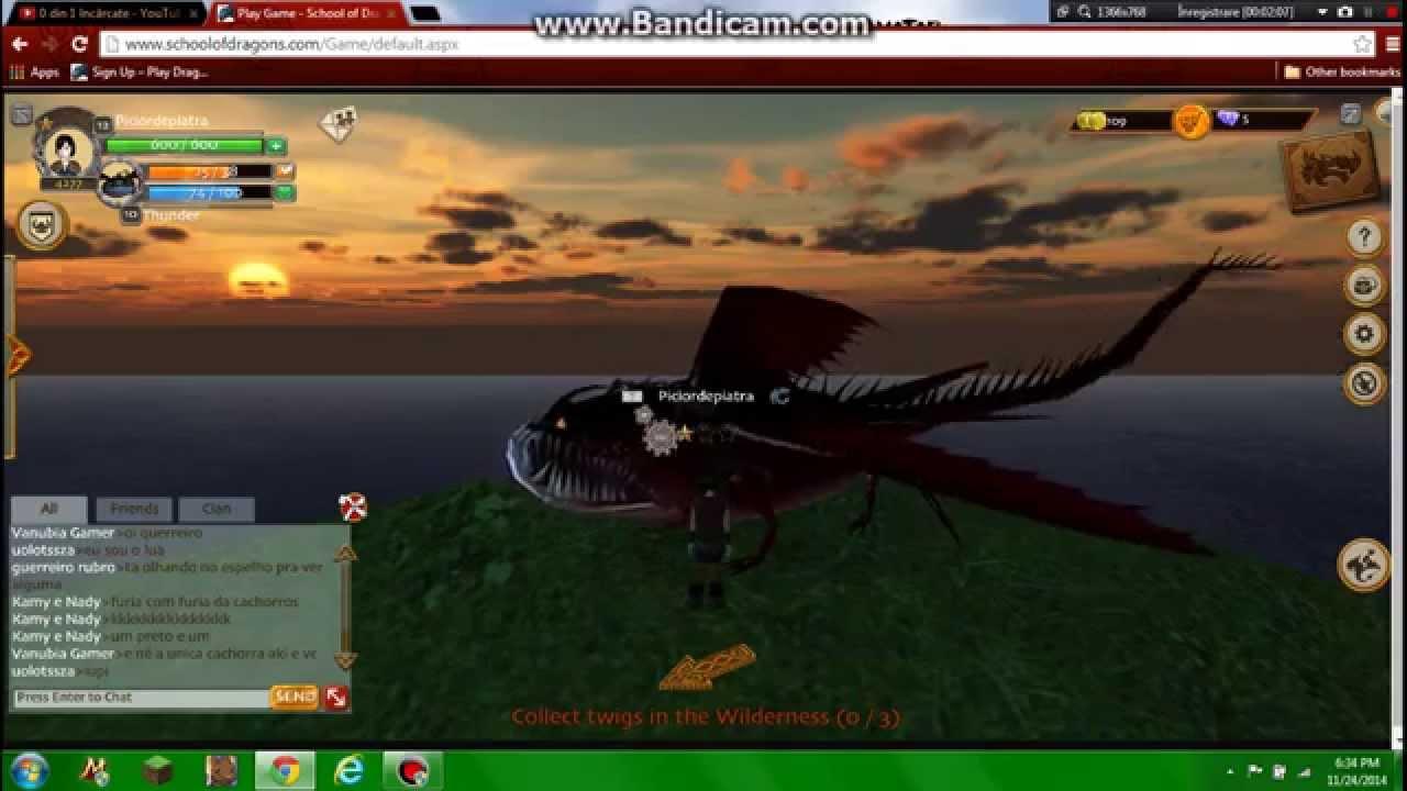 School of Dragons: Thunderdrum dragon - YouTube