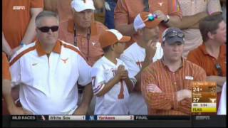 2015 Texas vs Oklahoma State officiating