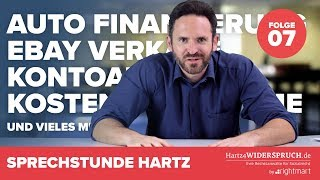 Sprechstunde Hartz 4 | Teil 7 – rund um Finanzierung, Kostenübernahmen und Anrechnung