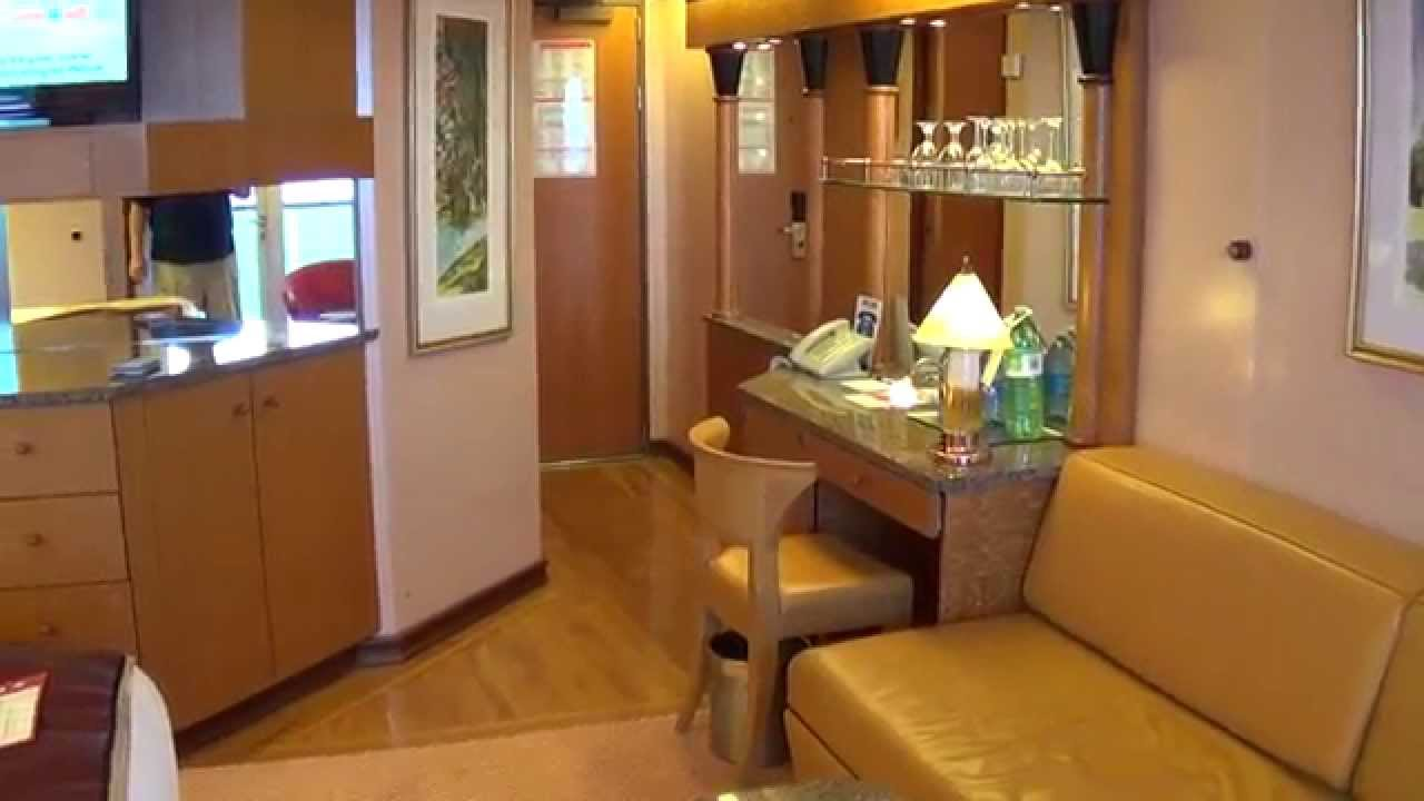 Carnival Miracle Ocean Suite 6168 Port Side Tour Youtube