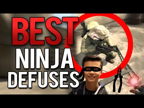 CS:GO - THE BEST AND FUNNIEST PRO NINJA DEFUSES TO HAPPEN! - 동영상