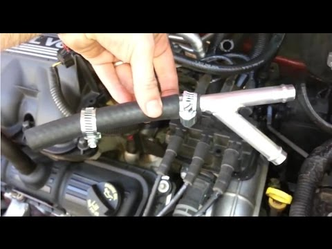 Fix Y Pipe Heater Hose Leak kit 2008-2014 Dodge Caravan ...