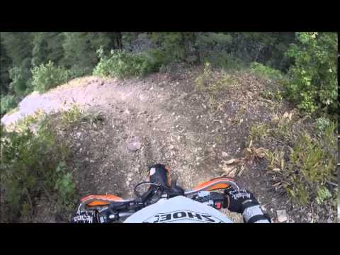 Tour of Idaho T1 Dirt Ride Day 1(A) KTM 350EXC-F