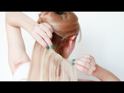16 способов изменить прическу с накладными волосами Queen Hair.