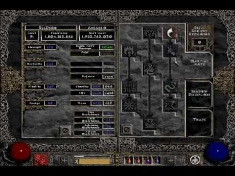 Kick Assassin Build Diablo
