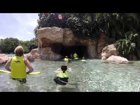 Discovery Cove. Orlando Florida.