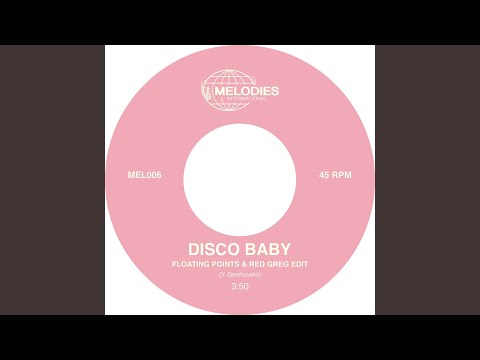 Yaron Gershovsky - Disco Baby (Floating Points and Red Greg