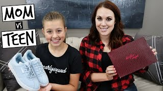 Download Video BACK TO SCHOOL SHOE SHOPPING HAUL! MOM vs TEEN MP3 3GP MP4