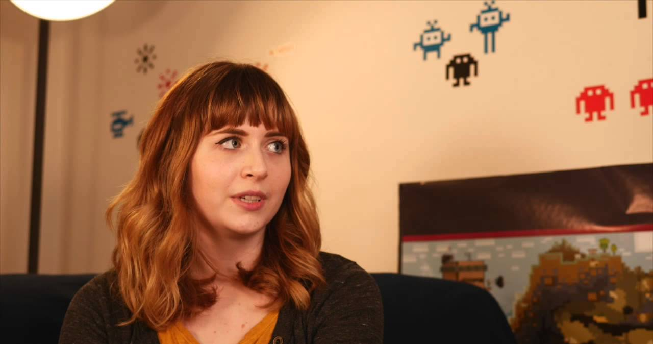 The Guardian at GameCity 2014 - Interview with Molly Carroll