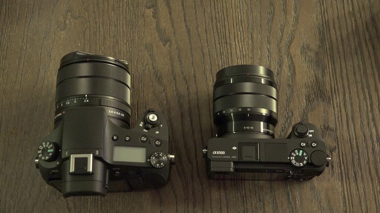Sony A6500 vs RX10 III
