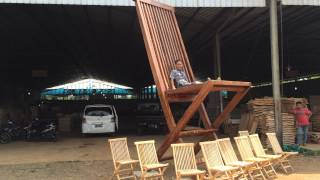 Giant  Folding Chair By President Furniture