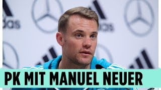Manuel Neuer zur Mexiko-Pleite – Die DFB-Pressekonferenz aus Russland