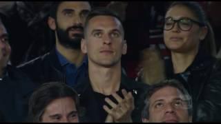 Il gol di hamsik - napoli - lazio 1-1- giornata 12 - serie a tim 2016/17